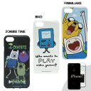 iPhone7/7s TPU製スマートフォンカバー フィン&ジェイク / アドベンチャータイム Adventure Time