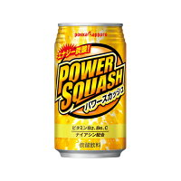 ポッカサッポロフード&ビバレッジ パワースカッシュ350ml缶