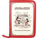母子手帳 母子手帳ケース ディズニー  片面ジャバラ ミッキー&ミニー