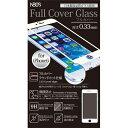 最強の高品質全面ガラスフィルムガラスフィルムiPhone6/iPhone6s 0.33mm White NBGF-IP6-N033-WH