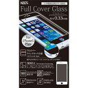 国内最高品質ガラスフィルムiPhone6Plus/iPhone6sPlus対応 0.33mm Black NBGF-IP6P-N033-BK