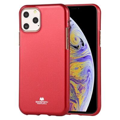 ビジョンネット Mercury JELLYCase iPhone11ProMax VNJEL11PMRD レッド