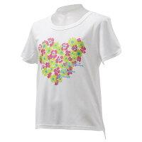 SPORTS AUTHORITY ジュニアスポーツウェア Tシャツ スポーツ ウェア ガールズ グラフィック半袖Tシャツ ジュニア ガールズ WHT 5C-S15-307-007
