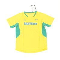 ナンバー Number ジュニアプラクティス半袖シャツ