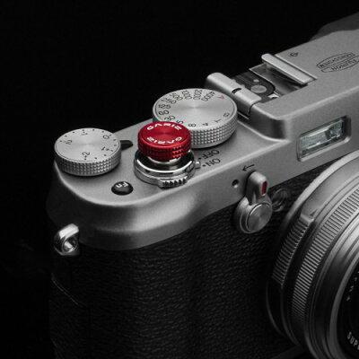 GARIZ ソフトレリーズボタン ネジ式 12mm レッド XA-SBA3