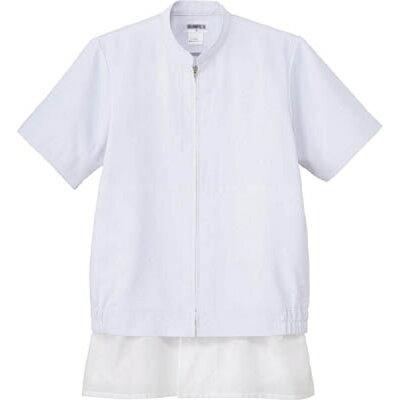サンペックスイスト サンペックス クールフリーデ男女兼用半袖ジャンパー ホワイト 3L CD-637-3L
