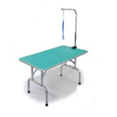 外付けアーム付トリミングテーブル/超大型llサイズ/カゴ付/高さ / /折畳機能付