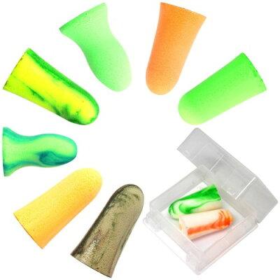 MOLDEX 使い捨て耳栓 コード無し お試し8種エコパック ケース付