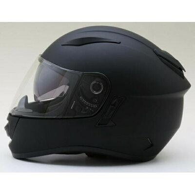 シールド ZX9 マットブラック つやなし インナーシールド付フルフェイスヘルメット SG品/PSC付 NEO-RIDERS バイク ヘルメ