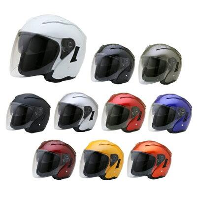 FZ-6 全10色 Wシールド オープンフェイス ジェットヘルメット  SG品/PSC付 NEO-RIDERS