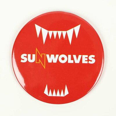 SUNWOLVES サンウルブズ オフィシャル 缶バッジ レッド SWKB002RD