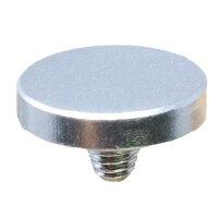 F-Foto ソフトレリーズシャッターボタン フラットタイプ 各社カメラ シルバー
