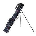 AZROFアズロフ セルフスタンドバッグクラブケース グラフブラック 99