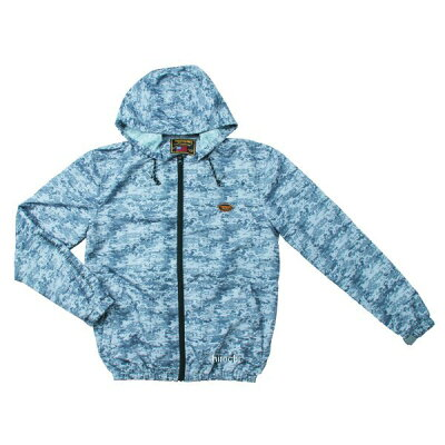 VANSON バンソン ライディングジャケット ウィンドプルーフジャケット フーディー サイズ:M
