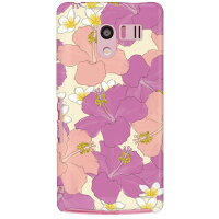 SECOND SKIN AQUOS PHONE EX SH-04E/docomo専用 スマートフォンケース uistore Always Surfing Sherbet Grape DSH04E-ABWH-194-X017
