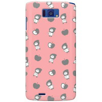 uistore リンゴとずきんちゃん Pink / for MEDIAS X N-04E/docomo SECOND SKIN