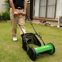 FIELDWOODS 手動式芝刈り機 FW-M30A リールタイプ 刈幅30cm