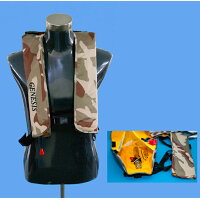 GENESIS ジェネシス 自動膨張式ライフジャケット ベストタイプ FV-1035