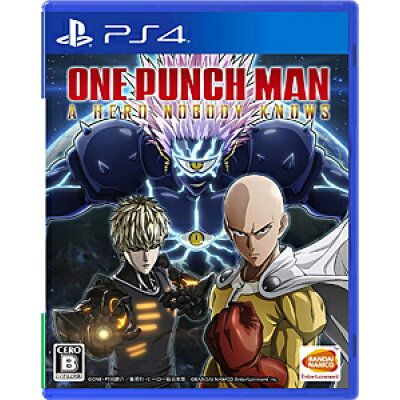 ONE PUNCH MAN A HERO NOBODY KNOWS(ワンパンマン ヒーローノーバディノウズ)/PS4/PLJS36117/B 12才以上対象
