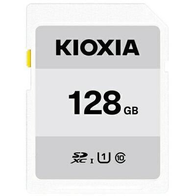 東芝 KIOXIA SDカード EXERIA BASIC 128GB KSDER45N128G