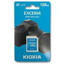 KIOXIA 128GB SDXCカード EXCERIA Class10 LNEX1L128GG4
