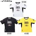 フィンタ FINTA メンズ サッカーウェア 昇華プラクティスTシャツ ホワイト FT8314 0100