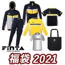 フィンタ FINTA メンズ NEW YEAR BAG 半袖/長袖プラシャツ+ジャケット+スリムパンツ+ウィンドジャケット+トートバッグ+シークレット ネイビー FT7459B