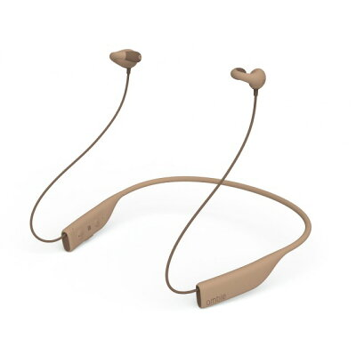 ambie WIRELESS EARCUFFS ブルートゥースイヤホン  TOYPU BROWN