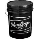 ローリングス Rawlings 野球 ボールバック 5D ブラック RJBBBUCK6G6PK