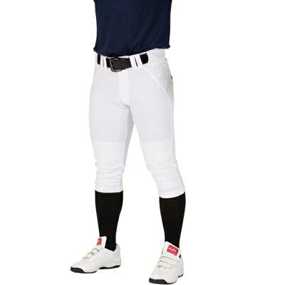 ローリングス 野球 練習用ユニフォームパンツ ショートフィットパンツ ホワイト S寸 4Dウルトラハイパーストレッチパンツ戦対応 APP9S01-NN