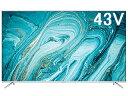 TCL 4K対応スマートテレビ オンラインモデル 43P715