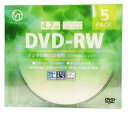 VERTEX DVD-RWVideo with CPRM 繰り返し録用 120分 1-2速 5P インクジェットプリンタホワイト DRW-120DVX.5CAX20