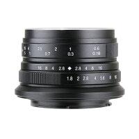 7artisans カメラレンズ 25F1.8/SE ブラック