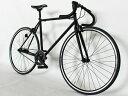 ピスト バイク ブリュアンbruant 700C シングルスピード 自転車 マット ブラック