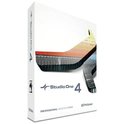 Presonus Studio One 4 Professional 日本語版