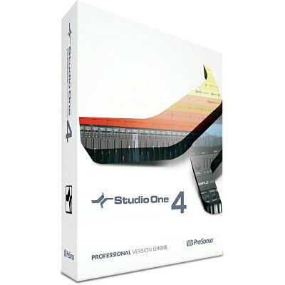 Presonus Studio One 4 Professional アカデミック 日本語版