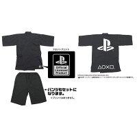 プレイステーション 甚平/ブラック-M コスパ