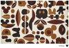 クリーンテックス・ジャパン Disney Mat Collection ディズニー 玄関マット Mickey ミッキー&ミニー モチーフ ブラウン 75 × 120 cm BK00036