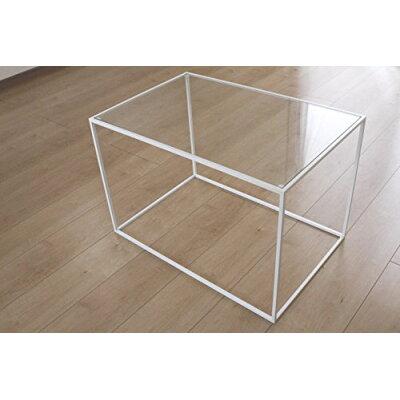 トレイテーブル サイドテーブル   ガラス