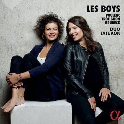 Les Boys-少年たち ピアノ・デュオ作品集 アルバム ALPHA-388