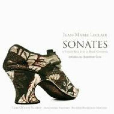 Leclair ルクレール / Violin Sonatas: L.o.santos Vn Santoro Cemb Miranda Gamb 輸入盤