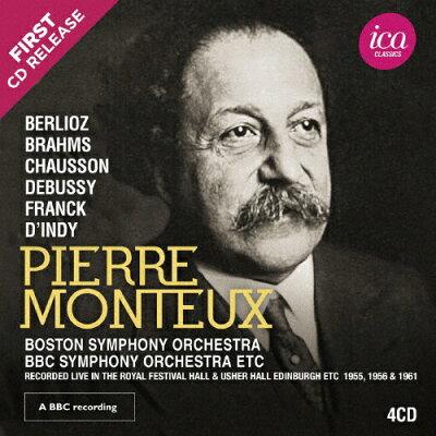 ピエール・モントゥー:秘蔵音源集 1955、1956、1961 アルバム ICAC-5150
