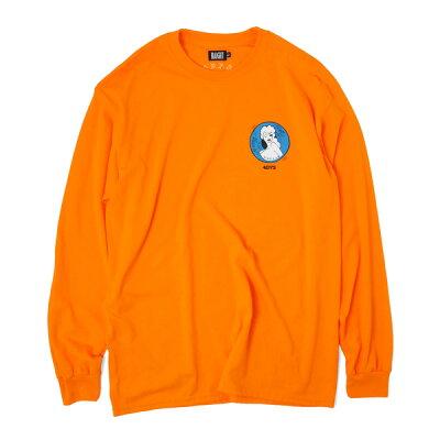 ヘイト 長袖Tシャツ ネオンオレンジHT-W198004