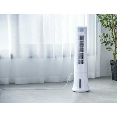 タワー冷風扇 アクアスリムクール ホワイト(1台)