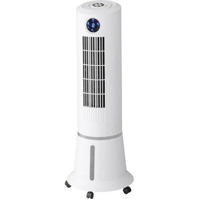 スリムタワー冷風扇 ウォータークールファン ホワイト(1台)