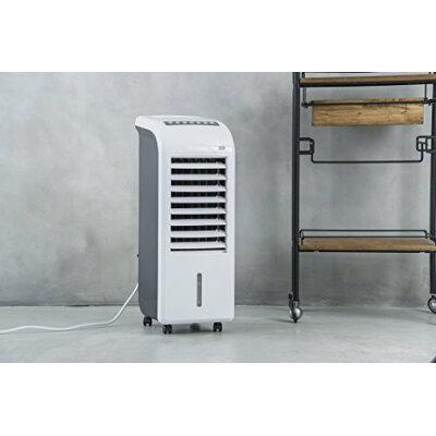 ボックス冷風扇 エアクールファン ホワイト(1台)
