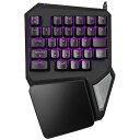 T9PRO DELUX デラックス ゲーミングシングルハンドキーボード 30キー Wired Gaming Keyboard