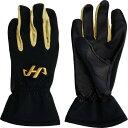 手袋 トレーニング 一般 メンズ ハタケヤマ HATAKEYAMA ウインタートレーニング手袋 スマホ ブラック/ゴールド
