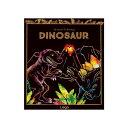 ラゴデザイン スクラッチカラーリング 子供用 ダイナソー Scratch Coloring_Dinosaur