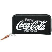 Coca-Cola/コカコーラ Coke スウェット財布 Black x White
